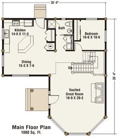 Small casita floor plans view true built home 39 s for Small casita floor plans