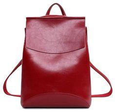 c995e25209 2016 Design PU Leather Backpack Women Backpacks For Teenage Girls School  Bags Black Summer Brand Vintage Backpack Mochilas Mujer