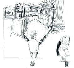 Studio 1482 Illustration & Design   The World of Lexica © Eddie Peña #studio1482 #illustration #design #reportage #drawing