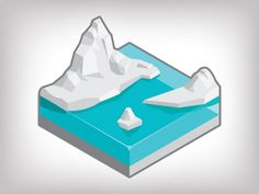 Dribbble - Artic Slice by John Neiner