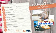 top gift cards for families