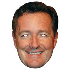 Piers Morgan Face Mask – Modo Creations