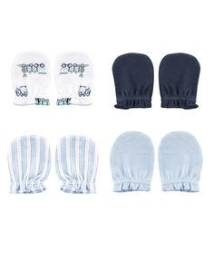 These soft, comfortable little Luvable Friends No Scratch Mittens will help prevent your newborn from scratching themselves. This pack includes 4 pairs of ultra-soft cotton mittens with gentle elastic wristbands to hold them in place. Baby Boys, Baby Boy Newborn, Baby Vision, Blue Train, Baby Shop, Baby Clothes Shops, Friends, Mittens, Boy Or Girl
