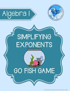 1000 images about algebra 1 daily interactive notebook for Go fish instructions