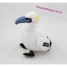 Peluche oiseau NATIONAL GEOGRAPHIC Fou de bassan oiseau des mers 16 cm