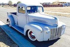 Ford: Other PICKUP 1946 ford truck hot rod rat rod vintage antique pickup no reserve Vintage Pickup Trucks, Ford Pickup Trucks, New Trucks, Custom Trucks, Cool Trucks, Farm Trucks, Classic Trucks, Classic Cars, Old Ford Pickups