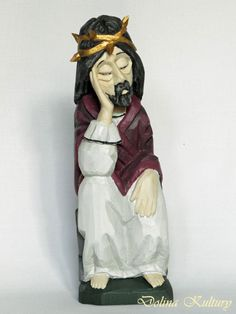 Jesus Sorrowful by Stanislaw Suska