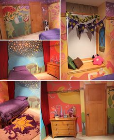 Tangled bedroom... Don't think the husband would agree lol but a girl can dream