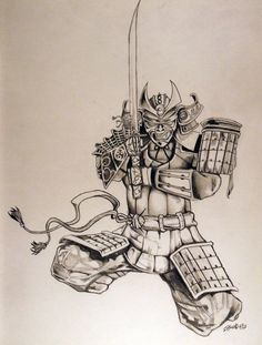 22.samurai - Samurai is military nobility. They are at the top of Japan official status order. it also includes warriors' wives and children. Samurai Drawing, Samurai Tattoo, Samurai Art, Asian Tattoos, Sexy Tattoos, Sleeve Tattoos, Japanese Tattoo Art, Japanese Art, Tattoo Guide