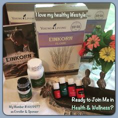 Ready to join me in a healthy lifestyle? These are how I nourish my body.. #einkornwheat #lowglycemic #nonGMO #life5 #probiotic #MasterHers #multivitamin #lifestyle #youngliving #essentialoils #natural #health #wellness #oilinfusedliving #triharmonyoilers #DaretoLivetheLifeYouLove #lavender #geranium #jadelemon #frankincense #rosemary #skin #hair #digestion #energy #immunesupport
