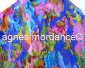 """agnès mordancé© créations feutrées paris - étole """"nuno"""" mousseline de soie haute couture http://www.alittlemarket.com/boutique/agnes_mordance-466335.html"""