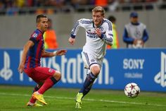 Champions League : Steaua Bucharest vs Chelsea - Andre Schurle was rampant on the left wing.