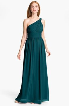 'Victorian Jade', a gorgeous new color from Donna Morgan, available at Nordstrom>>>prom