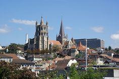 Cathedral, Lausanne, Switzerland by Junagarh, via Flickr