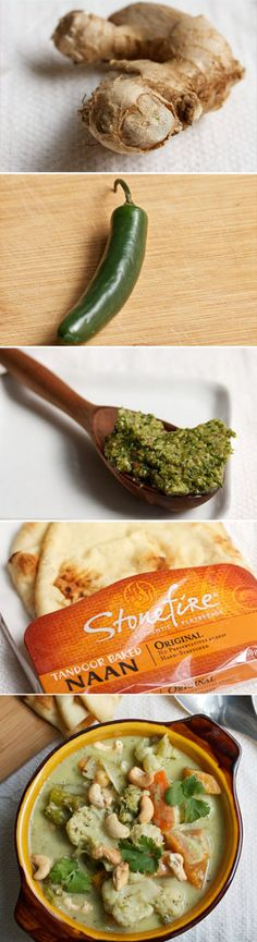 Homemade Vegetable Korma #vegan #vegetarian #glutenfree www.biggirlssmallkitchen.com