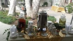 Coffee Station at Prince Erik Hall and Gardens March 2016