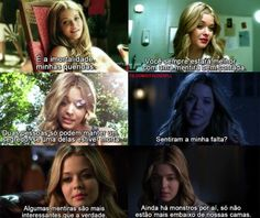 fãs de Pretty Little Liars Frases Pll, Dramas, Prety Little Liars, Pll Memes, Red Band Society, Grey Anatomy Quotes, The Greatest Showman, American Horror Story, My Photos