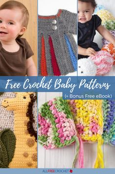 👶 Find fresh and new crochet ideas for baby with this page of adorable baby crochet patterns. Crochet Baby Cocoon Pattern, Crochet Baby Toys, Baby Blanket Crochet, Baby Knitting, All Free Crochet, Cute Crochet, Crochet Ideas, Crochet Projects, Crochet Patterns