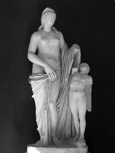 The Venus Felix is a sculpture of Venus and her son Cupid. It was dedicated by Sallustia and Helpidus to Venus Felix. Its head resembles Faustina the Younger. It is now held at the Museo Pio-Clementino of the Vatican Museums, Rome, and is displayed in the Octagon of the Hermes Hall.