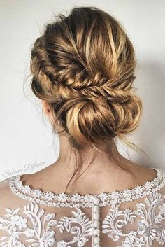 63 Amazing Braid Hairstyles for Party and Holidays ★ Braided Updo Ideas for Long Hair Picture 1 ★ See more: http://glaminati.com/christmas-party-braid-hairstyles/ #christmashair #winterhair #braidhairstyle