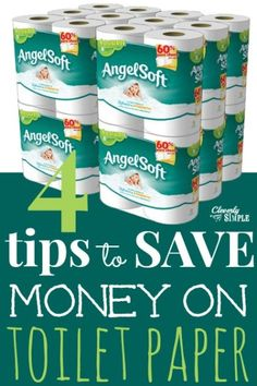 How to Save Money On toilet Paper! I always get this toilet paper free. It's not my favorite but a good back up. :) Frugal Living Tips Ways To Save Money, Money Tips, Money Saving Tips, Mo Money, Frugal Living Tips, Frugal Tips, Dave Ramsey, Just In Case, Just For You