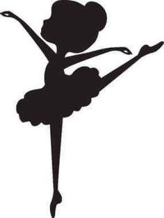 Ateliê Ponto & Patch: Moldes de Silhuetas de Bailarinas