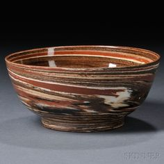 Staffordshire Solid Agate Bowl   Sale Number 2663B, Lot Number 1077   Skinner Auctioneers