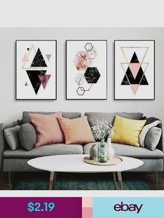Educational and inspirational map wall art adds elegance and art prints ebay home garden gumiabroncs Image collections