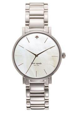 Jag har önskan att köpa det här för mig själv ... kate spade new york & # 39; gramercy & # 39; armbandsur | Nordström...