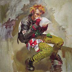 Robert Oscar Lenkiewicz, The Glue Sniffer, Mark Elliot Local Painters, John Everett Millais, Portraits, Portrait Paintings, Art Thou, Pictures To Draw, Fabric Painting, Figurative Art, Great Artists