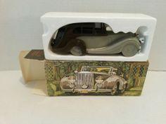 Avon Rolls Royce Cologne Glass Bottle Decanter Car - Deep Woods After Shave - Empty Bottle