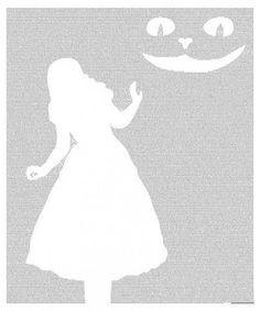 Alice's Adventures in Wonderland poster - Typography Art Print - x inches Disney Pumpkin Carving, Halloween Pumpkin Carving Stencils, Amazing Pumpkin Carving, Halloween Pumpkins, Fall Halloween, Halloween Decorations, Pumpkin Carvings, Pumpkin Template, Pumpkin Carving Templates