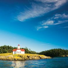 Patos Island, WA Patos Island is the San Juan you haven't heard of—probably because the only way to get there is to charter a boat to its unnamed beaches and seven campsites. Walk the 1.5-mile forested loop trail, check out the tidepools, pick blackberries, or just relax on a bluff. Most magical moment? Watching harbor porpoises feed just past the lighthouse.   Photo: Thomas J. Story, Sunset.com