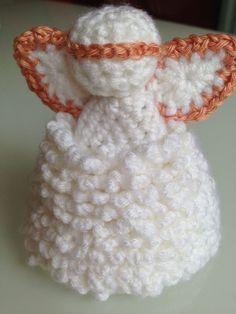 Crocheted Christmas Angel