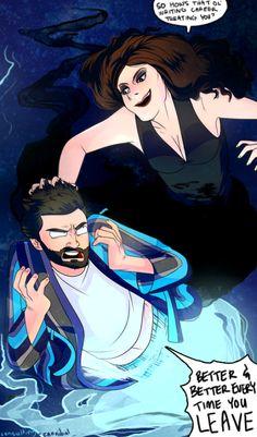 Supernatural comic | Darkness Amara and God Chuck