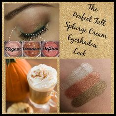 Perfect Fall look with Younique's Splurge Cream Eyeshadow! For extravagant lids…