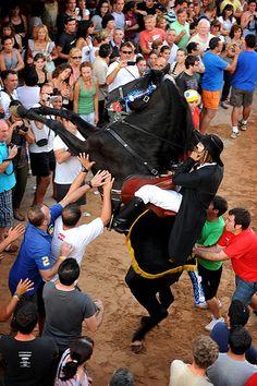 Es Mercadal, Fiesta  Menorca  Spain