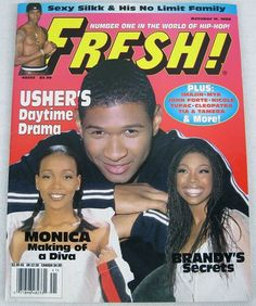 Fresh Hip Hop Music Magazine October 1998 Nate Dog Tupac Brandy Kelly Price Mya