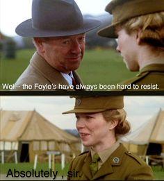 Foyle's War | Foyle And Sam.Source: kitchenfoyle.tumblr.com
