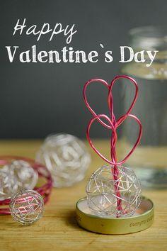 Valentine's day - snow globe - Klabüstermann