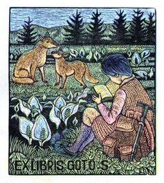 Ex Libris by Kohhou Ohuchi (大內香峰)