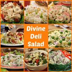 All the deli salads you could ever want for Easter! It doesn't get much better than that!