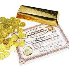Chocolate Gold Bullion Bar Contents #GoldInvestment #GoldInvesting