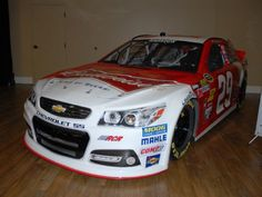 Kevin Harvick's Budweiser #ChevySS won the first race for the new cars; the Sprint Unlimited