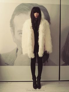 Come Wander With Me: Mongolian Fur Jacket
