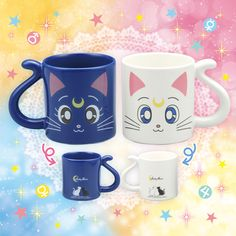 Sailor Moon kitties...<3 Someone who speaks Japanese seriously, I would love to buy these...or be gifted them(hint...hint)
