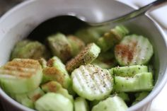 our life in a click: {Pinned} Cucumber Snack