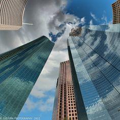 Stunning skyscrapers of Houston!