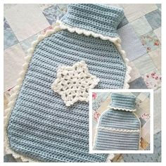 I can share this Christmas gift as the recipient isn't on here  My 1st try so I'm quite pleased with it. Thank you Kate for the pattern on your blog @just_pootling  #hotwaterbottlecover #stylecraftyarn #duckeggblue  #craftastherapy #mindfulness #gratitute #snowflake @bellacoco #youtube #thankyou #Christmas #christmasgift