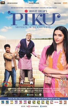 Piku 2015 - Piku is a comedy-drama film directed by Shoojit Sircar. It stars Amitabh Bachchan and Deepika Padukone in lead roles and deals with a father-daughter relationship. #piku #piku2015 #movies #movies2015 #bollywood